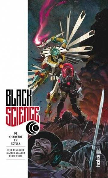 Couverture de l'album BLACK SCIENCE Tome #1 De Charybde en Scylla