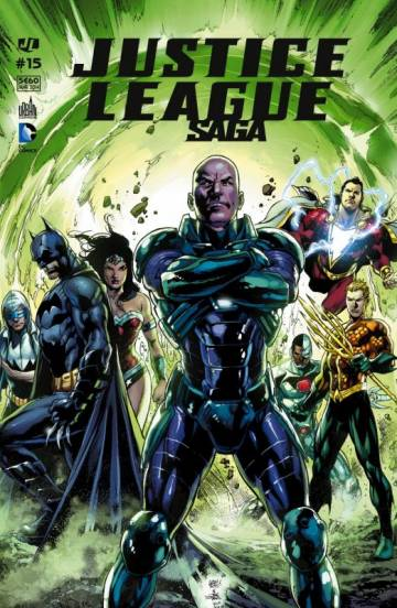 Couverture de l'album JUSTICE LEAGUE SAGA Tome #15 Volume 15