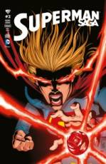 Couverture de l'album SUPERMAN SAGA HORS SERIE Tome #2 Supergirl rejoint les Red Lantern !