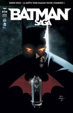 Couverture de l'album BATMAN SAGA Tome #34 Volume 34
