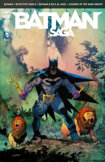 Couverture de l'album BATMAN SAGA Tome #35 Volume 35