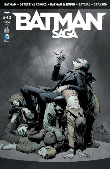 Couverture de l'album BATMAN SAGA Tome #42 Volume 42