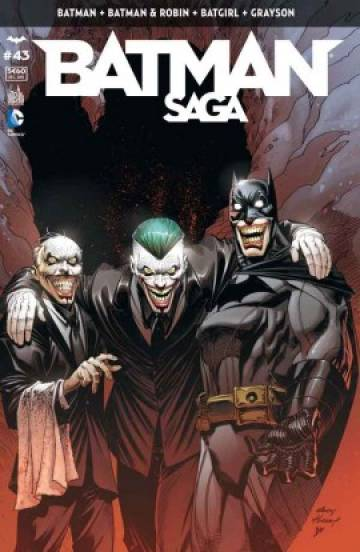 Couverture de l'album BATMAN SAGA Tome #43 Volume 43