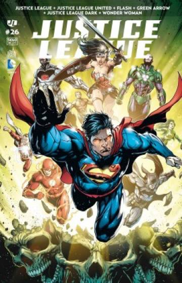 Couverture de l'album JUSTICE LEAGUE SAGA Tome #26 Volume 26
