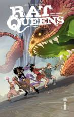 Couverture de l'album RAT QUEENS Tome #1 Donjons et dragons