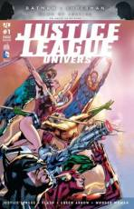 Couverture de l'album JUSTICE LEAGUE UNIVERS Tome #1 La Guerre de Darkseid