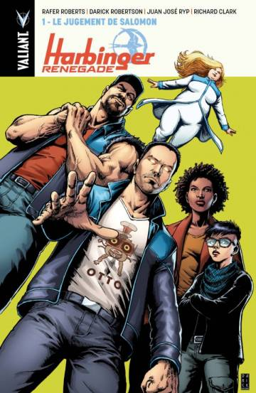Couverture de l'album HARBINGER RENEGADE Tome #1 Le jugement de Salomon
