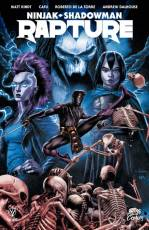 Couverture de l'album RAPTURE Ninjak / Shadowman