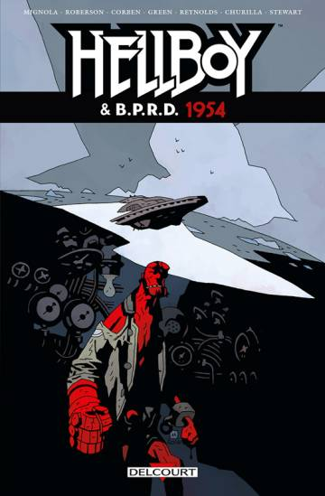 Couverture de l'album HELLBOY AND THE B.P.R.D. Tome #3 1954