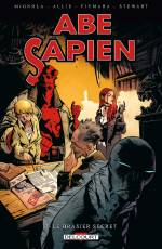Couverture de l'album VF ABE SAPIEN  Tome #7 Le Brasier Secret