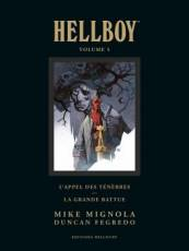 Couverture de l'album HELLBOY (EDITION DELUXE) Tome #5 Volume 5