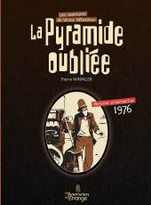 Couverture de l'album LES AVENTURES DE VICTOR BILLETDOUX La pyramide oubliée, version alternative 1976