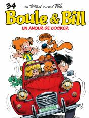 Couverture de l'album 2 BOULE ET BILL Tome #34 Un amour de cocker