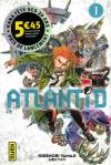 bande-dessinée, ATLANTID #1, volume 1