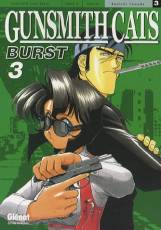 Couverture de l'album GUNSMITH CATS BURST Tome #3 Gunsmith Cats Burst