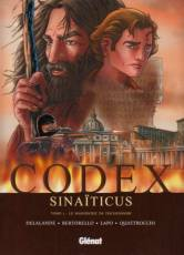 Couverture de l'album CODEX SINAÏTICUS Tome #1 Le manuscrit de Tischendorf