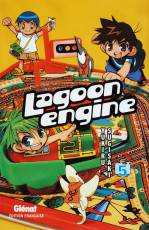 Couverture de l'album LAGOON ENGINE Tome #5 Volume 5