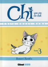 Couverture de l'album CHI, UNE VIE DE CHAT Tome #3 Chi's sweet home