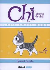 Couverture de l'album CHI, UNE VIE DE CHAT Tome #4 Chi's sweet home