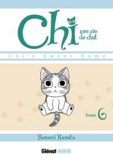 Couverture de l'album CHI, UNE VIE DE CHAT Tome #6 Chi's sweet home