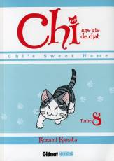 Couverture de l'album CHI, UNE VIE DE CHAT Tome #8 Chi's sweet home