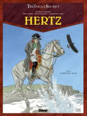 Couverture de l'album LE TRIANGLE SECRET Tome #4 Hertz : L'ombre de l'aigle