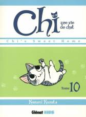 Couverture de l'album CHI, UNE VIE DE CHAT Tome #10 Chi's sweet home