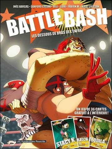 Couverture de l'album BATTLE BASH Tome #1 Les dessous de bras de l'enfer