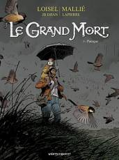 Couverture de l'album LE GRAND MORT Tome #5 Panique