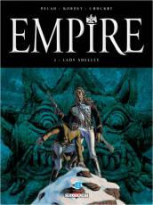 Couverture de l'album EMPIRE Tome #2 Lady Shelley