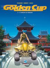 Couverture de l'album GOLDEN CUP Tome #5 Le baiser du dragon