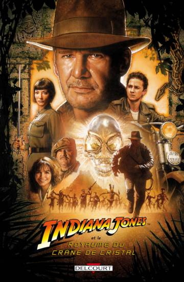 Couverture de l'album INDIANA JONES IV Indiana Jones et le royaume du crâne de cristal