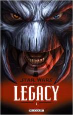 Couverture de l'album STAR WARS - LEGACY Tome #4 Indomptable