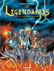 Couverture de l'album LES LEGENDAIRES Tome #11 Le cycle d'Anathos : Versus inferno