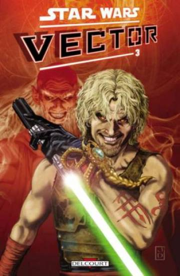 Couverture de l'album STAR WARS - VECTOR Tome #3 Volume 3