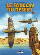 Couverture de l'album FAUCON DU DESERT (LES) Tome #2 Hal Far