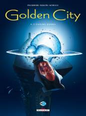 Couverture de l'album GOLDEN CITY Tome #9 L'énigme Banks