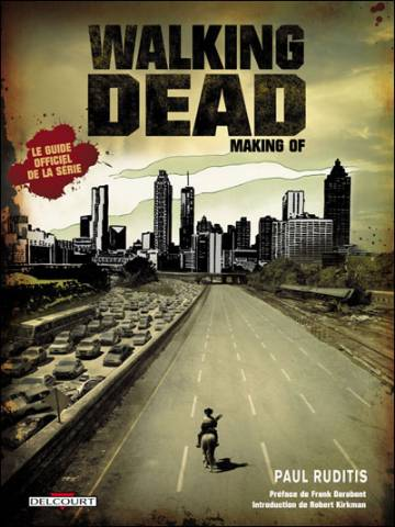 Couverture de l'album WALKING DEAD Making of