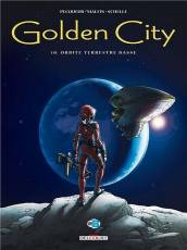 Couverture de l'album GOLDEN CITY Tome #10 Orbite terrestre basse