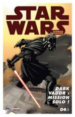 Couverture de l'album STAR WARS COMICS MAGAZINE Tome #4 Dark Vador : Mission solo !