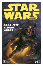 Couverture de l'album STAR WARS COMICS MAGAZINE Tome #5 Boba Fett & Dark Vador !