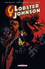 Couverture de l'album LOBSTER JOHNSON (VF) Tome #1 Le Prométhée de fer