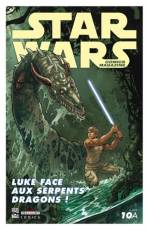 Couverture de l'album STAR WARS MAGAZINE Tome #10A Luke face aux serpents dragons !