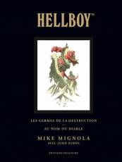 Couverture de l'album HELLBOY (EDITION DELUXE) Tome #1 Les Germes de la Destruction/Au Nom du Diable