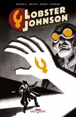 Couverture de l'album LOBSTER JOHNSON (VF) Tome #2 La Main enflammée
