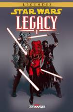 Couverture de l'album STAR WARS (LEGENDES) : LEGACY Tome #1 Tome 1 - Nouvelle édition