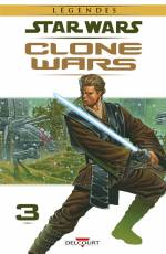 Couverture de l'album STAR WARS (LEGENDES) : CLONE WARS Tome #3 Volume 3