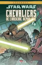 Couverture de l'album STAR WARS (LEGENDES) : CHEVALIERS DE L'ANCIENNE REPUBLIQUE Tome #4 L'invasion de Taris