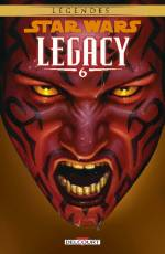 Couverture de l'album STAR WARS (LEGENDES) : LEGACY Tome #6 Tome 6