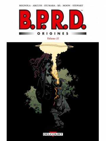 Couverture de l'album B.P.R.D. ORIGINES Tome #2 Volume II